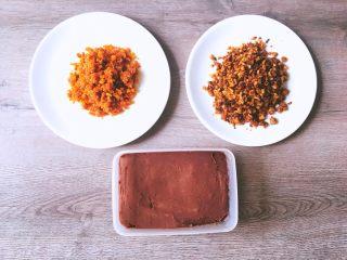青团(三种口味),腌菜春笋五花肉的就是正常炒菜的方式,就不分享了,这样三种馅料大功告成啦