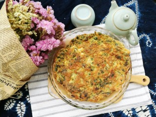 春季养肝,香椿芽鸡蛋饼,出锅