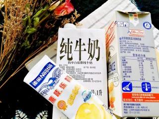 润燥瘦身,芒果银耳布丁,准备铁塔牌天然进口奶油、纯牛奶、炼乳