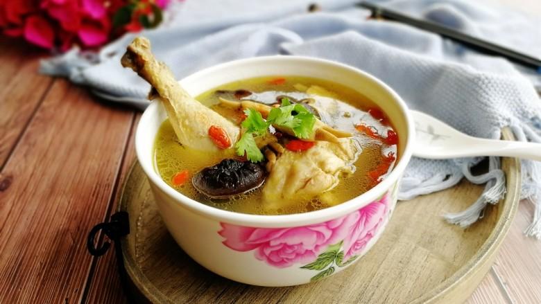 为爱煲养+香菇蛏干鸡汤