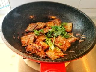 家庭版&红烧带鱼,加香菜出锅