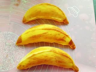 果蔬造型馒头,香蕉做好了