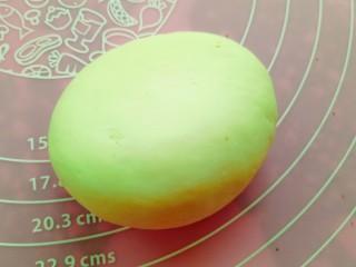 果蔬造型馒头,做个玉米~剩余的一小块白面团