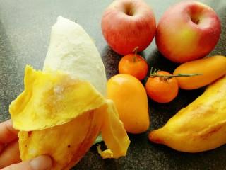 果蔬造型馒头,能扒皮的香蕉馒头