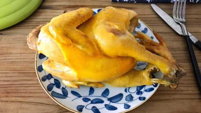 砂锅烤窑鸡