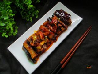 馋嘴蒜香茄条,色,香,味俱佳,配米饭吃极棒