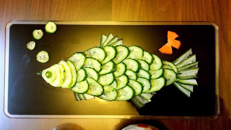 素食者的鱼…黄瓜鱼