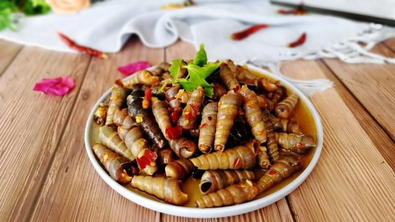 清明的应景佐酒小菜--香辣钉螺