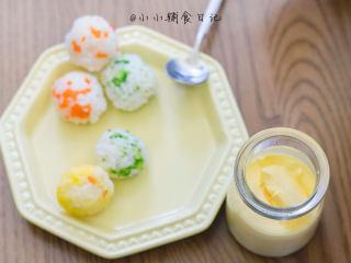辅食8m+ 蛋黄蒸蛋 教你如何做出如布丁般的蒸蛋,这样就是一定早餐啦