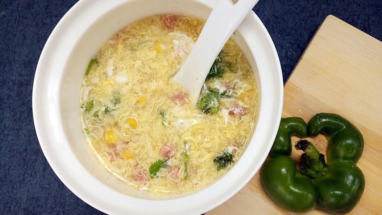 玉米鸡蛋汤羹
