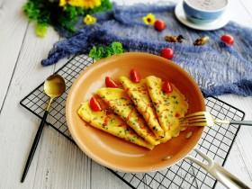 快手早餐+葱花鸡蛋饼