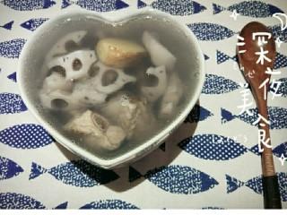 简单莲藕排骨汤