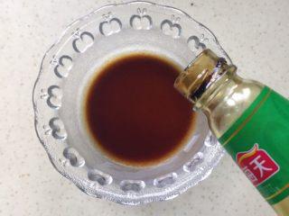 肉饼缸豆花环,加入蚝油