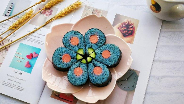 花朵寿司【蓝色系】
