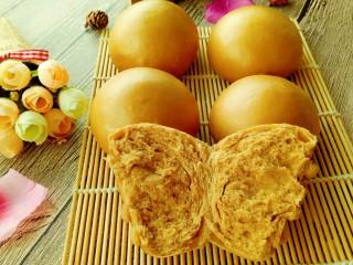 紅糖饅頭,表面光滑,內部柔軟,超級松軟好吃喲????