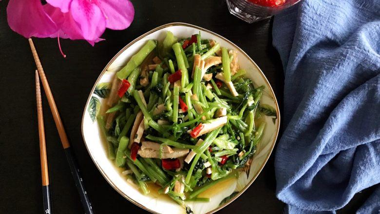 辣炒香干水芹菜
