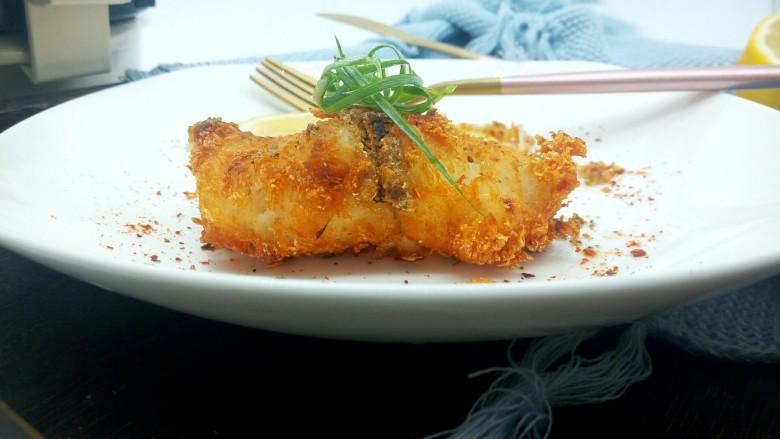 柠香鳕鱼排
