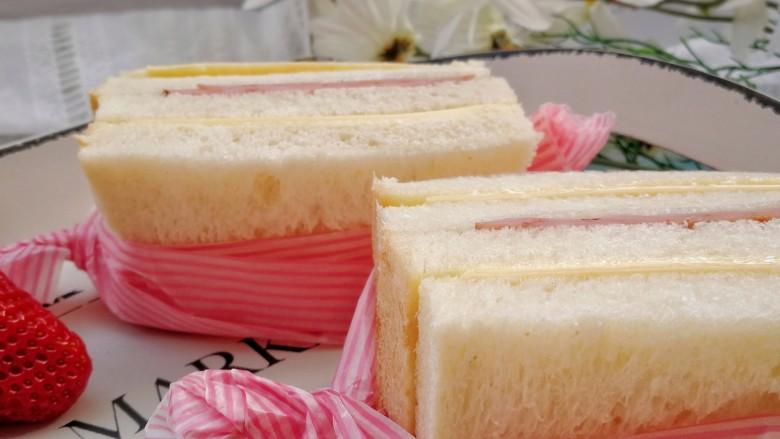 野餐三明治,成品图一。