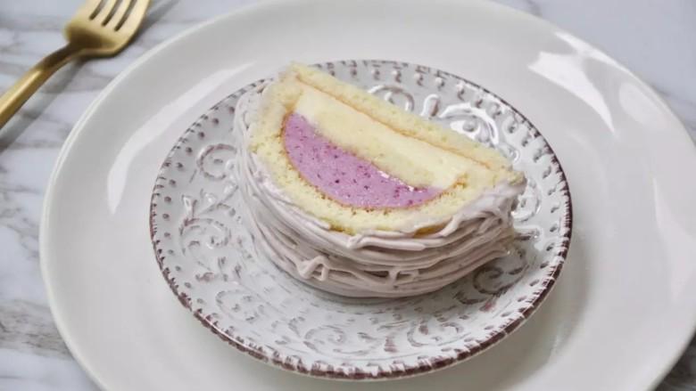 葡萄朗姆酒慕斯蛋糕