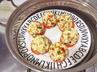 辅食12M➕:时蔬豆腐丸子,上锅中火蒸8-10分钟即可