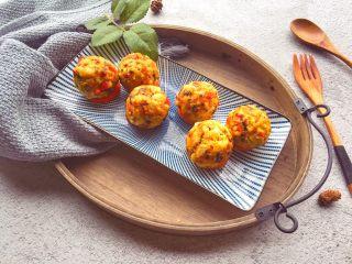 辅食12M➕:时蔬豆腐丸子,成品图