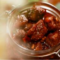 自制大粒香辣牛肉酱,拌面拌饭夹馍炒菜都带劲