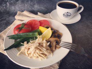 菌类料理+蘑菇手撕鸡胸肉