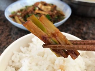 青椒油焖野笋,真心好吃啊
