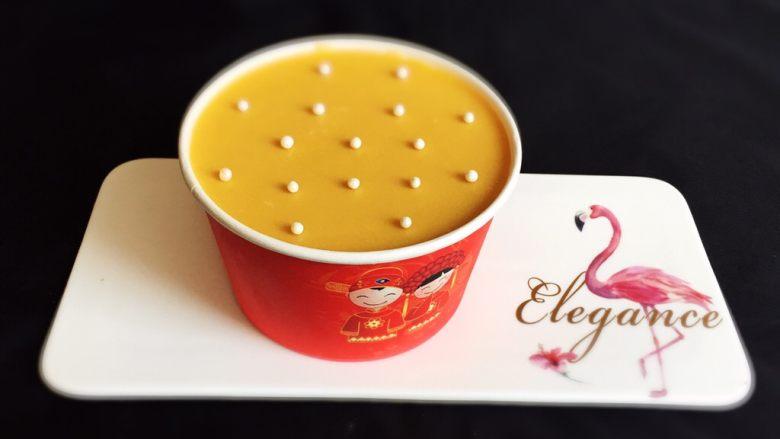 芒果慕斯蛋糕+6寸和4寸