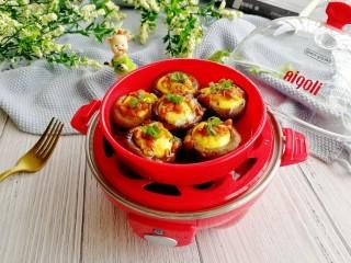 菌类料理+香菇蒸鹌鹑蛋