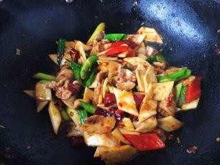 #菌类料理# 干锅杏鲍菇,因为郫县豆瓣酱是咸的,我就没放盐,大家可根据个人的口味调整咸淡。