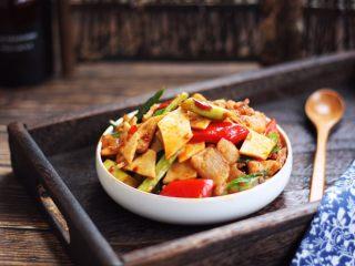 #菌类料理# 干锅杏鲍菇,成品图。