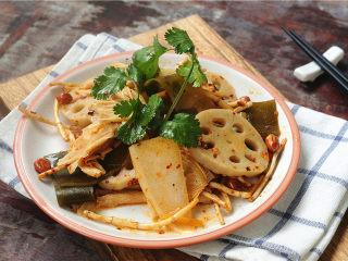 凉拌菜,酸辣开胃的凉拌菜上着啦,用它代替晚饭减肥效果超级棒!