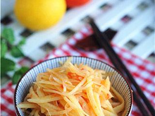 柠檬茄汁土豆丝,酸辣开胃太好吃啦