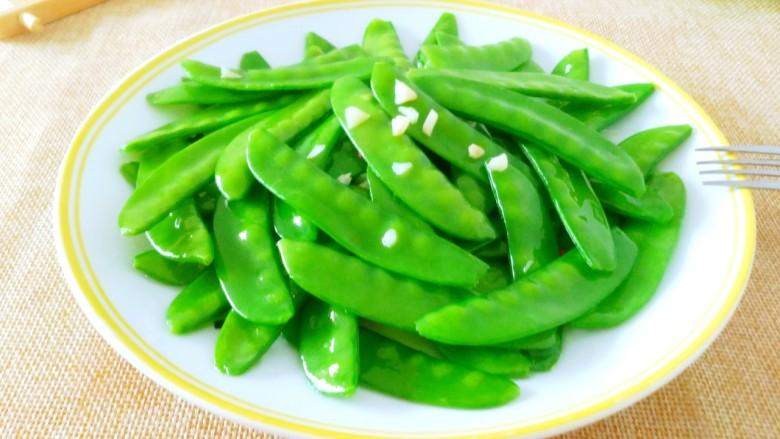蒜蓉 荷兰豆