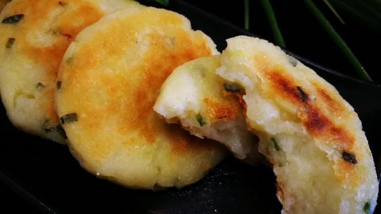 飘香土豆饼,成品图