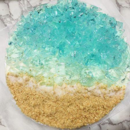 海洋慕斯蛋糕