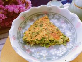 春季养肝,香椿芽鸡蛋饼