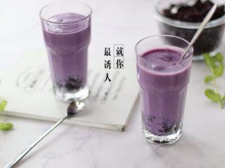奶香紫薯血糯米糊,成品