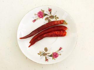 开胃小菜  酸辣白菜,干红辣椒