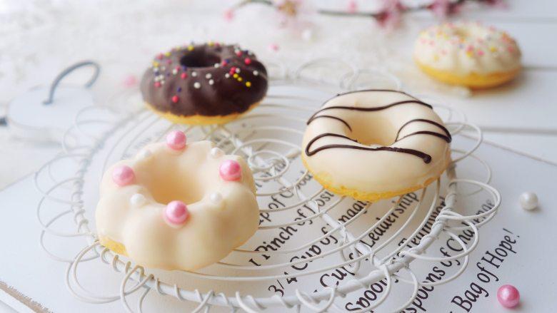 甜甜圈,有着春天的气息