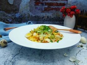 明蝦鵪鶉蛋炒飯