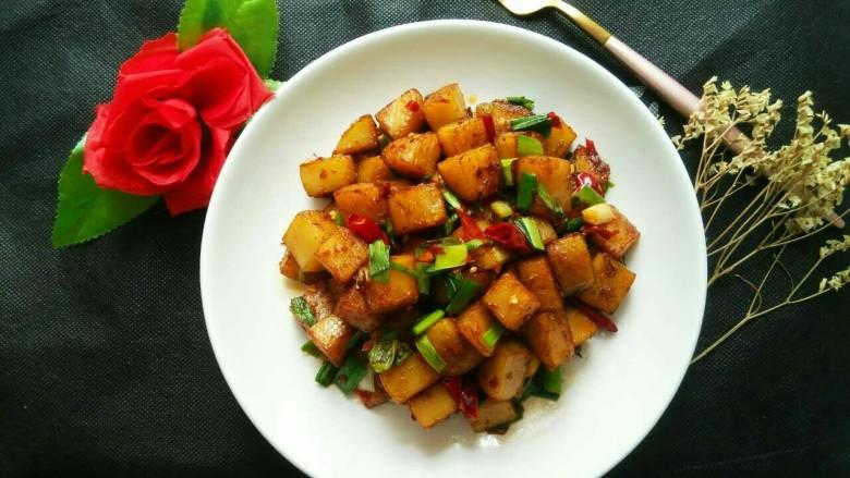 香辣米豆腐