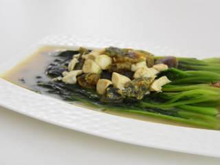 教你学做上汤菠菜,比炒着吃更受欢迎
