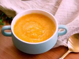周末营养早餐—— 南瓜小米粥,.健康营养的南瓜小米粥就完成啦