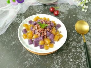 蜜豆椰汁芋圆