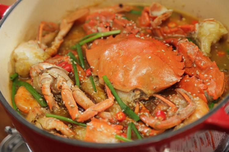 火遍大江南北的秘制咖喱肉蟹煲