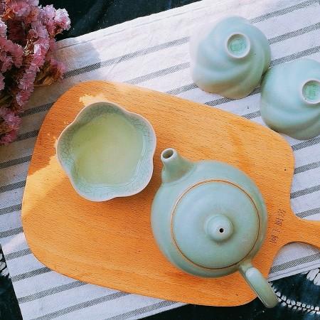 春季茶饮,绿茶&玫瑰茉莉茶