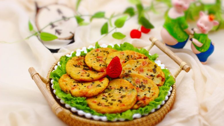土豆火腿肠饼