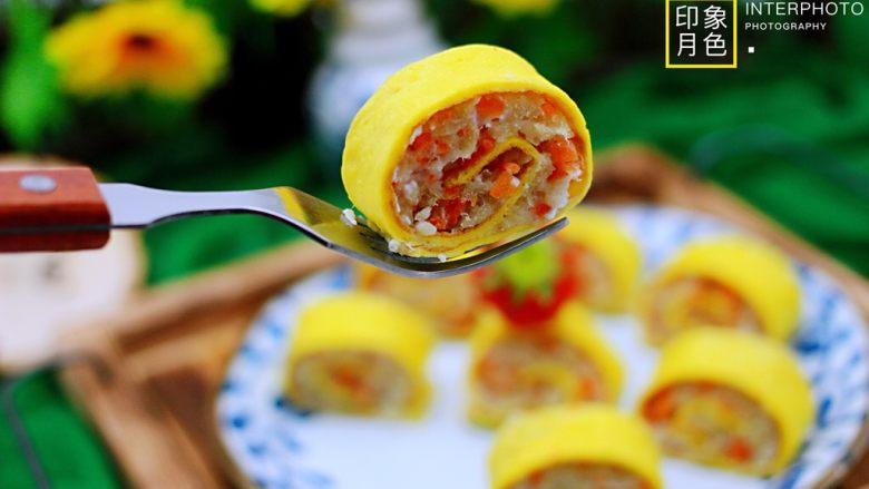 鳕鱼蛋卷(宝宝辅食)